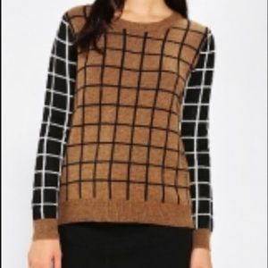 Urban Outfitters Lucca Couture Grid Sweater